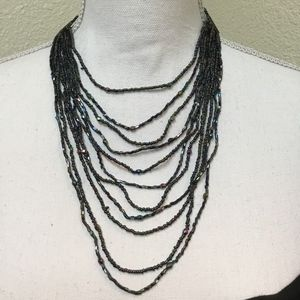 5/$25 Multi-Stand Layered Seed Beaded Necklace